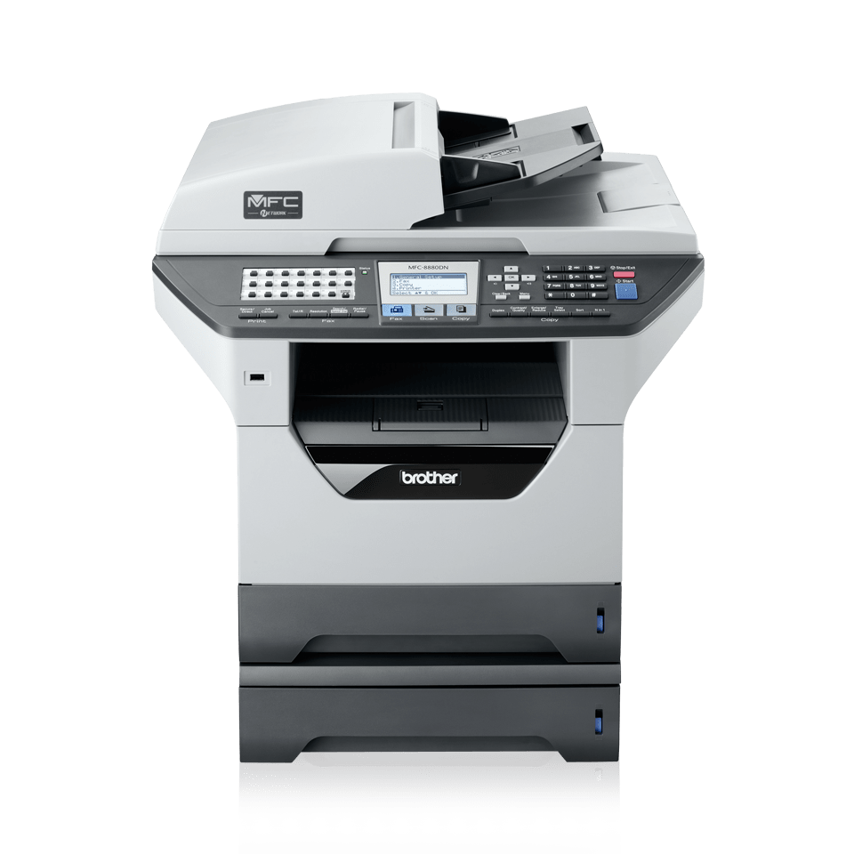 MFC-8880DN all-in-one mono laser printer 6