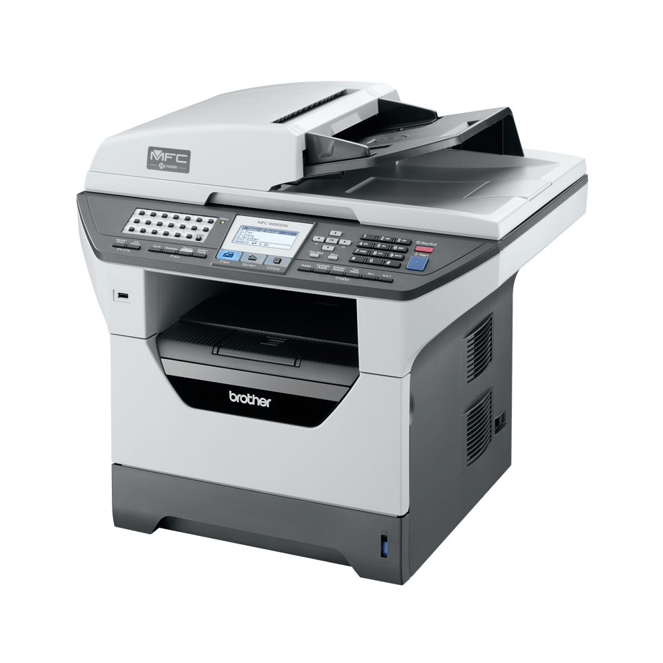 MFC-8880DN all-in-one mono laser printer 2