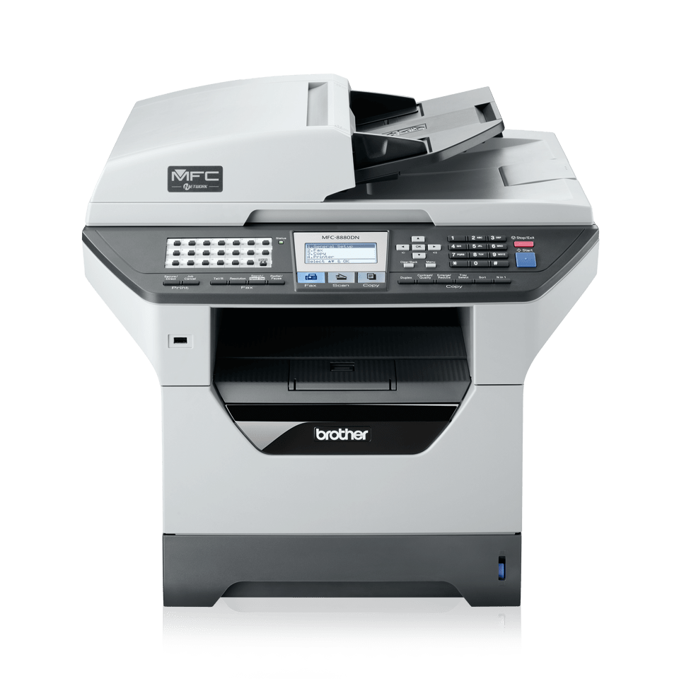 MFC-8880DN all-in-one mono laser printer