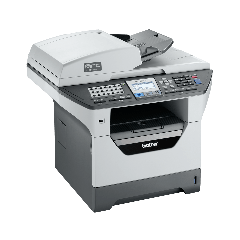 MFC-8880DN all-in-one mono laser printer 3