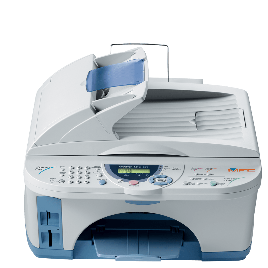 MFC-890 all-in-one inkjet printer