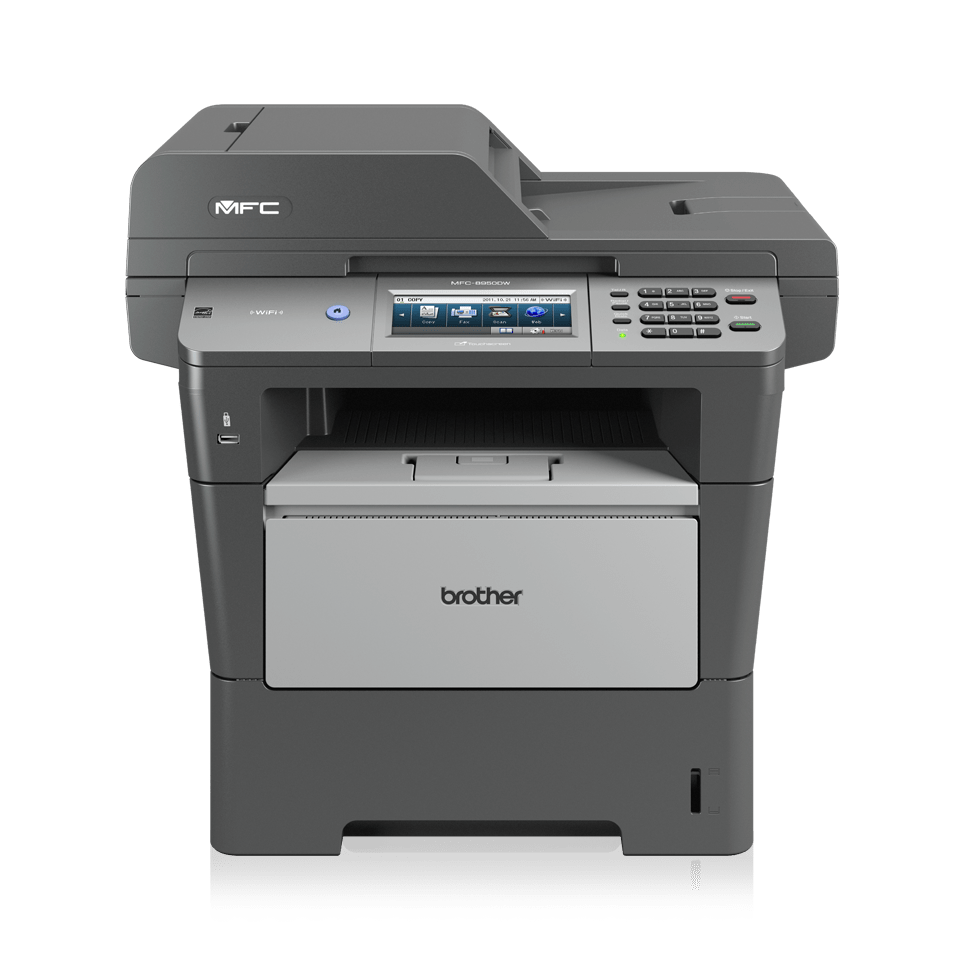 MFC-8950DW all-in-one mono laser printer