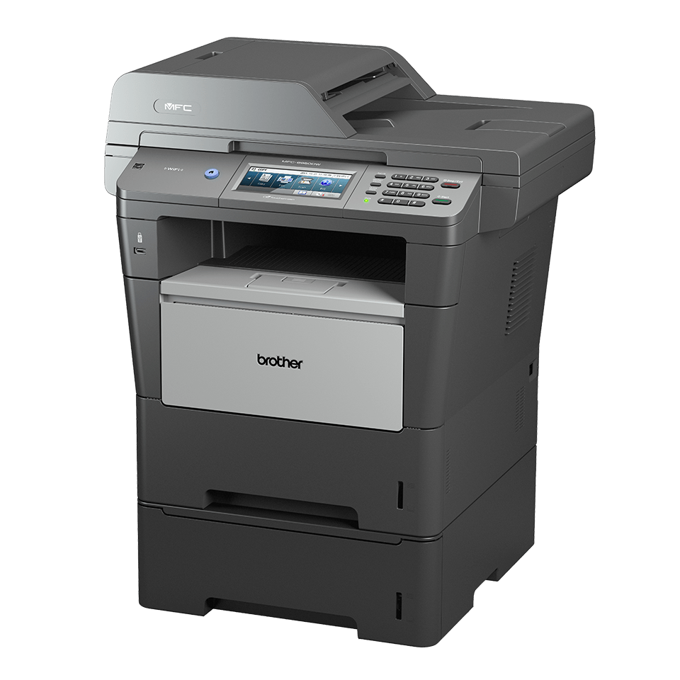 MFC-8950DWT all-in-one mono laser printer 2