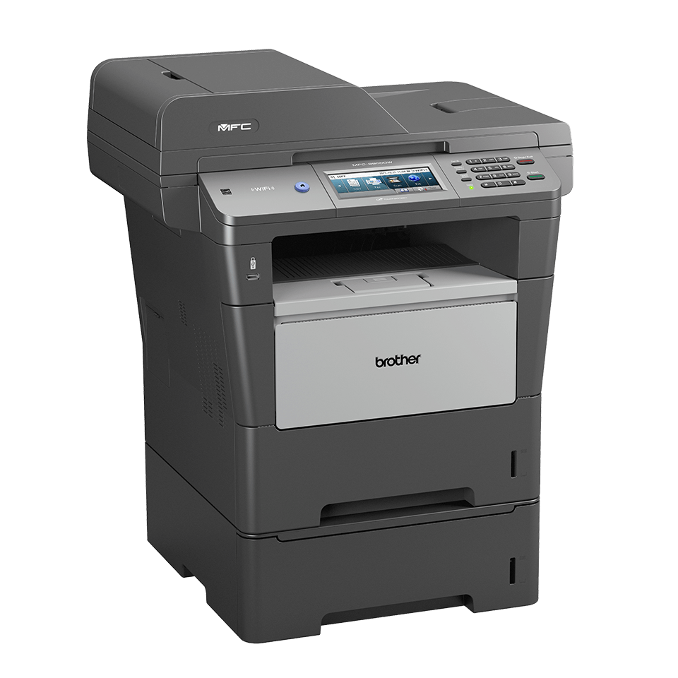 MFC-8950DWT all-in-one mono laser printer 3