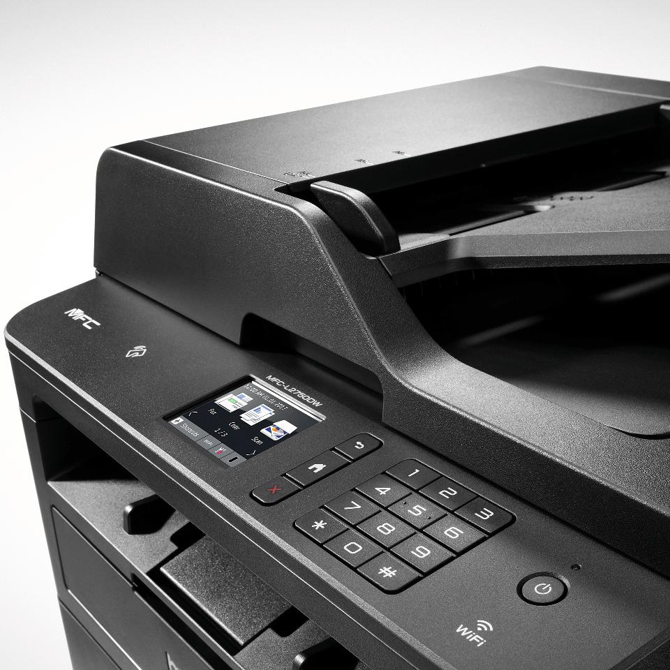 MFC-L2750DW compacte 4-in-1 mono laser wifi printer 4