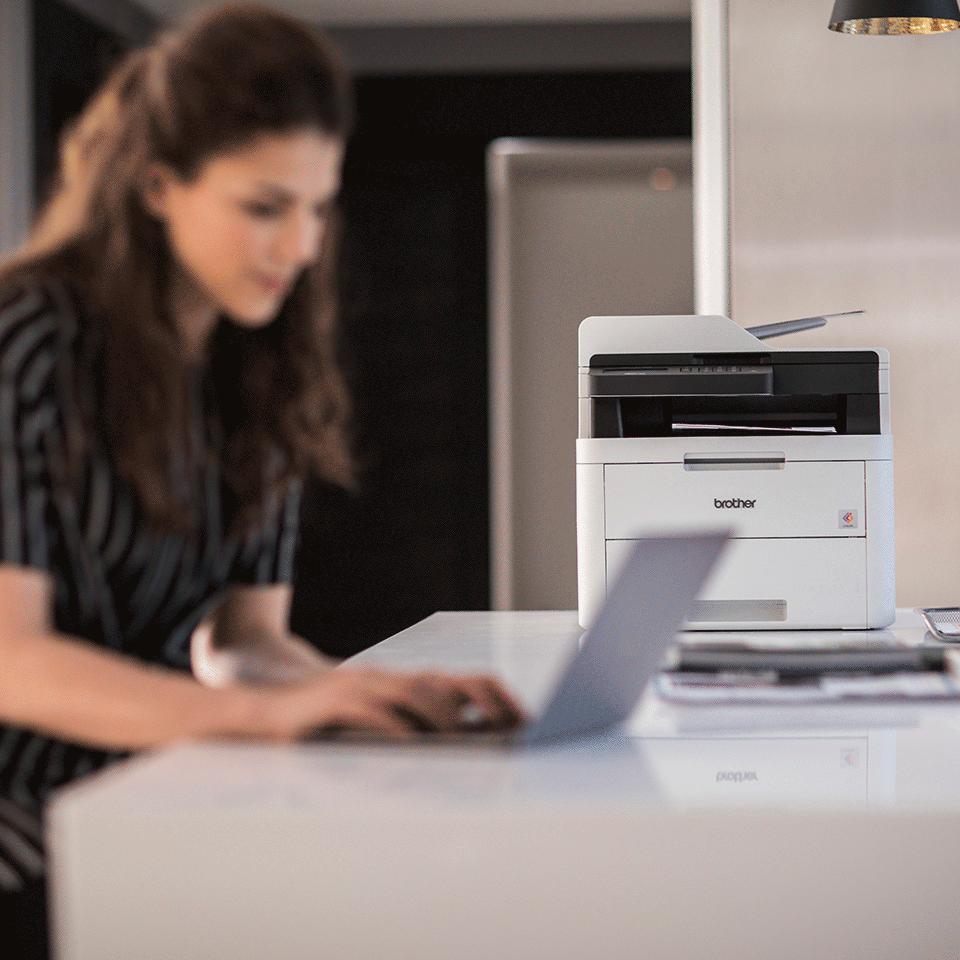 MFC-L3730CDN imprimante laser couleur 4-en-1, Ethernet 4