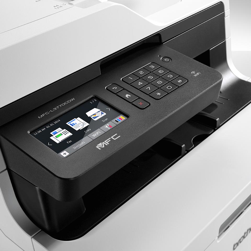 MFC-L3770CDW imprimante laser couleur 4-en-1, Wifi, Ethernet, NFC 4