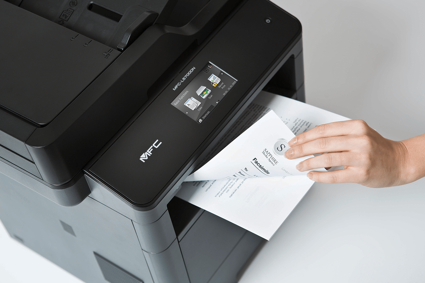 MFC-L5700DN business all-in-one mono laser printer 4