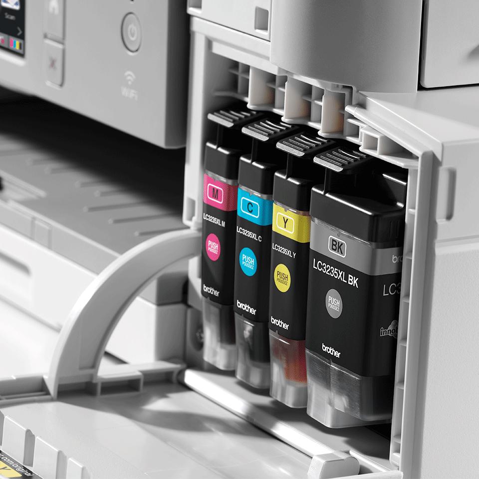 MFC-J1300DW All in Box imprimante jet d'encre couleur multifonctions + 4 cartouches d'encre 5