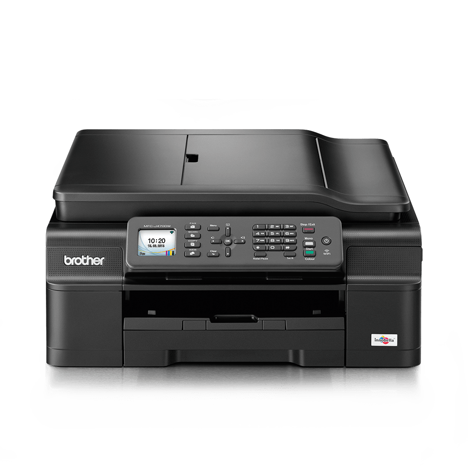 MFC-J470DW all-in-one inkjetprinter