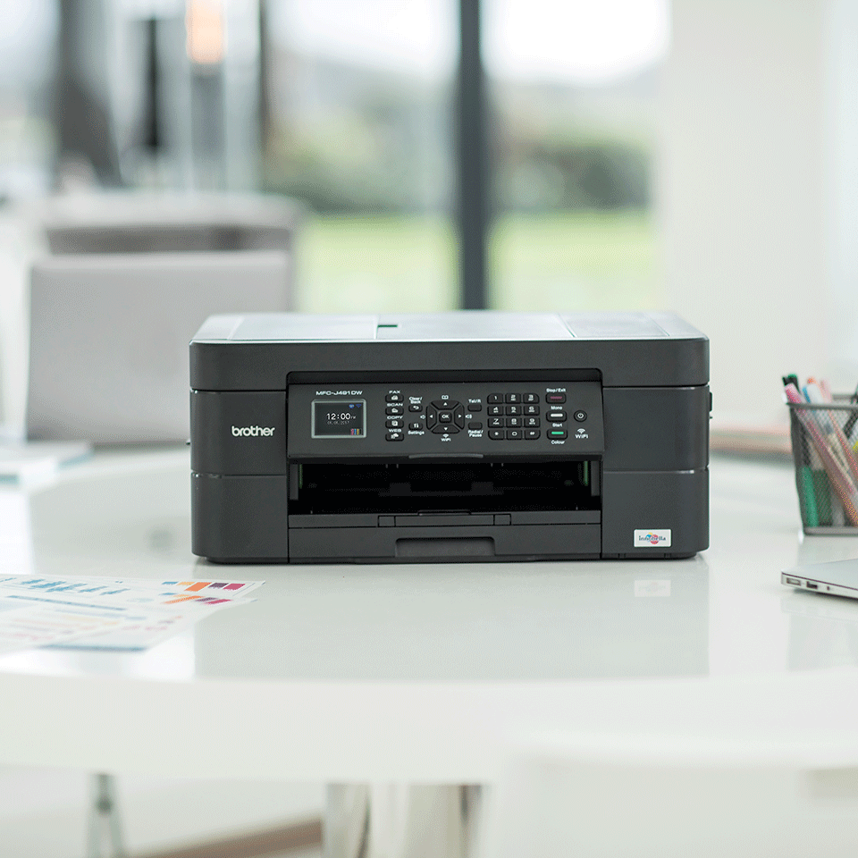 MFC-J491DW A4 all-in-one inkjetprinter 4