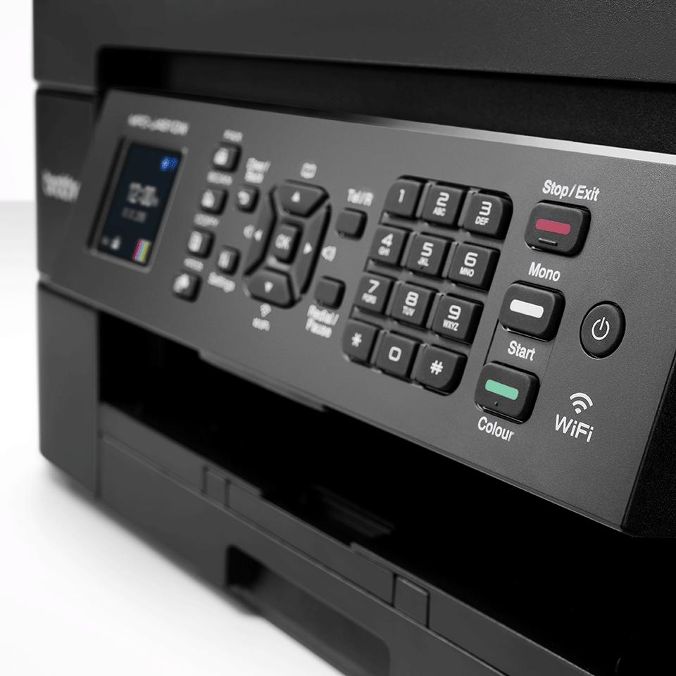 MFC-J491DW Imprimante jet d'encre couleur 4-en-1, Wifi 6