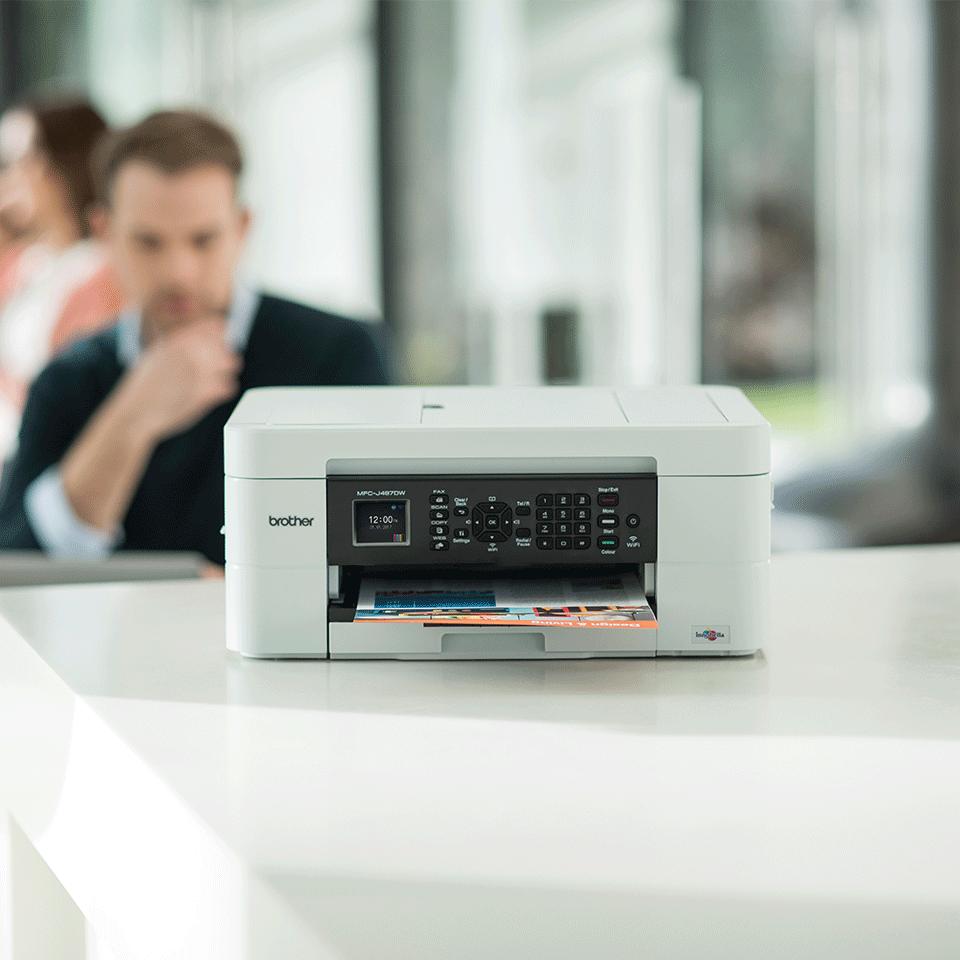 MFC-J497DW 4-in-1 kleuren inkjet printer, Wifi 4