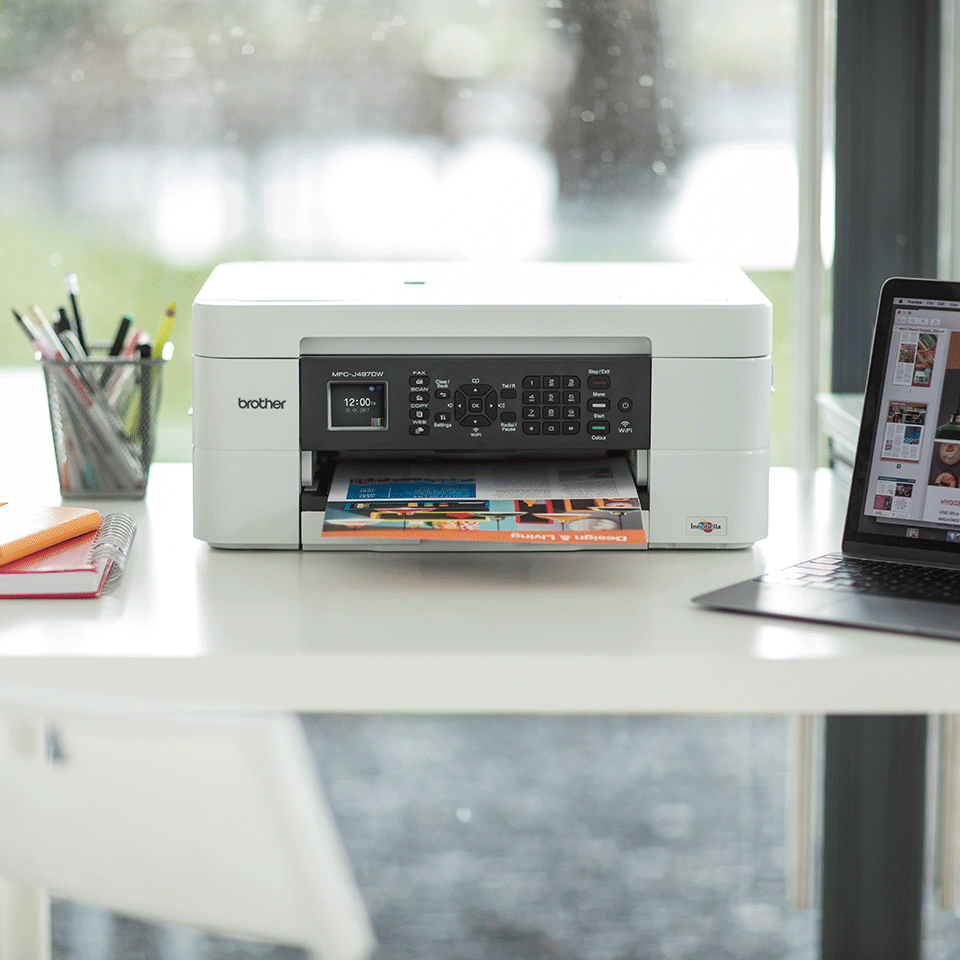 MFC-J497DW 4-in-1 kleuren inkjet printer, Wifi 5