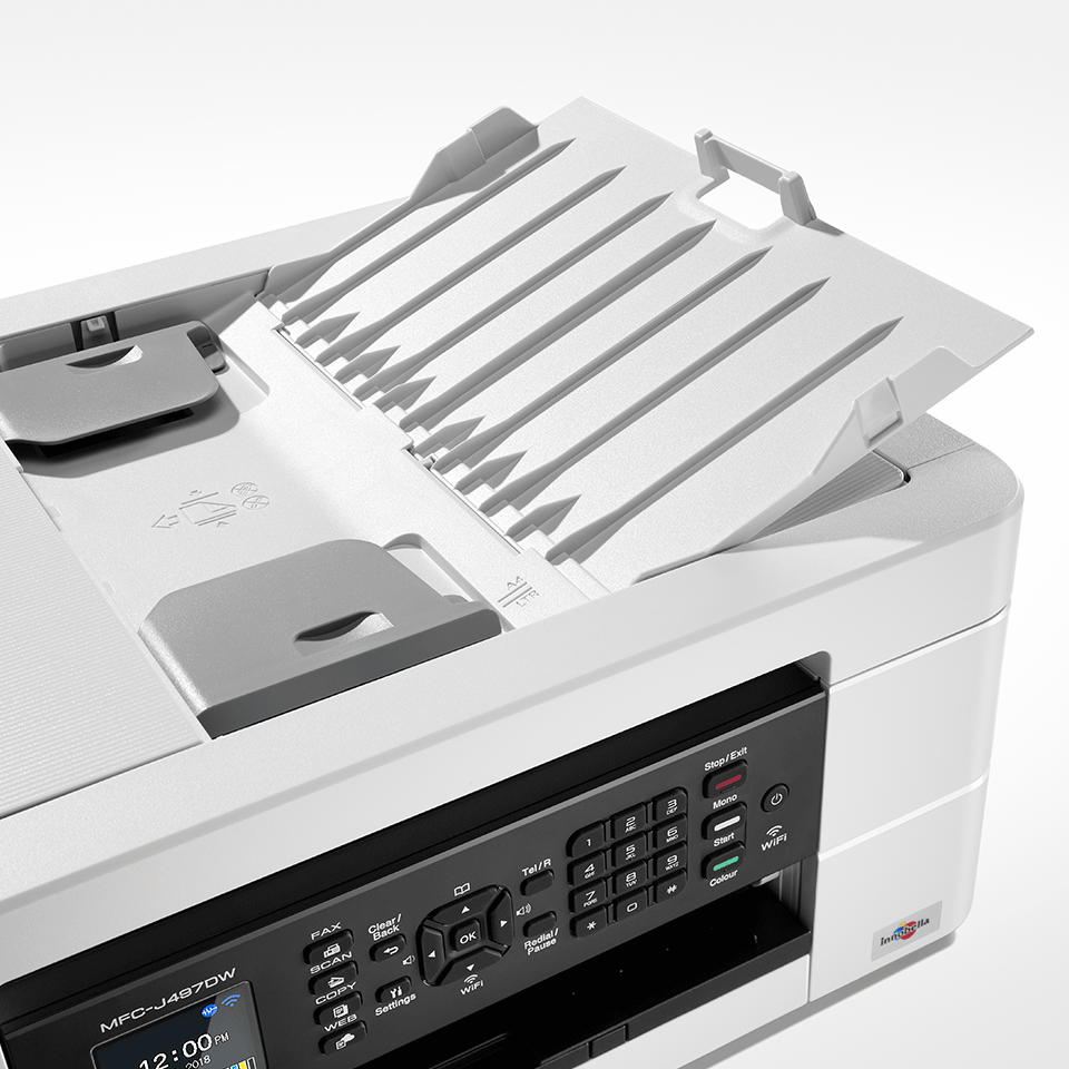 MFC-J497DW Imprimante jet d'encre couleur 4-en-1, Wifi 6