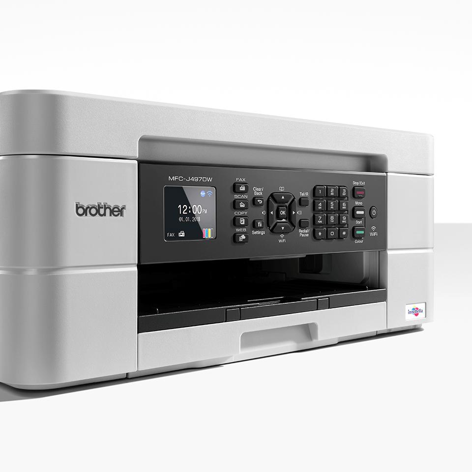 MFC-J497DW 4-in-1 kleuren inkjet printer, Wifi 7