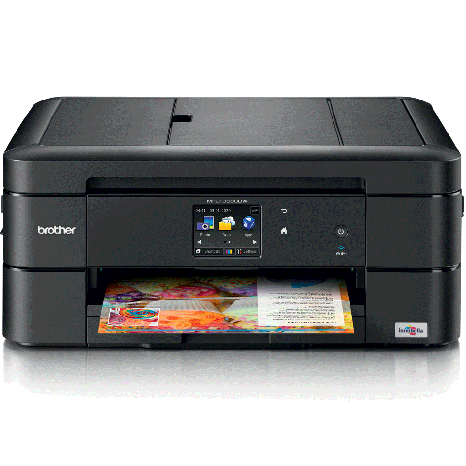 MFC-J680DW all-in-one inkjet printer 2