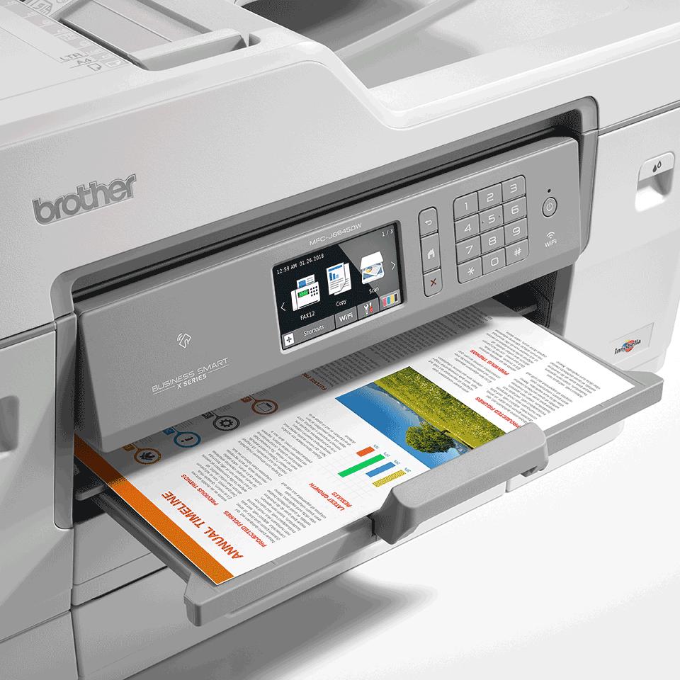 MFC-J6945DW draadloze 4-in-1 A3 kleureninkjetprinter 6