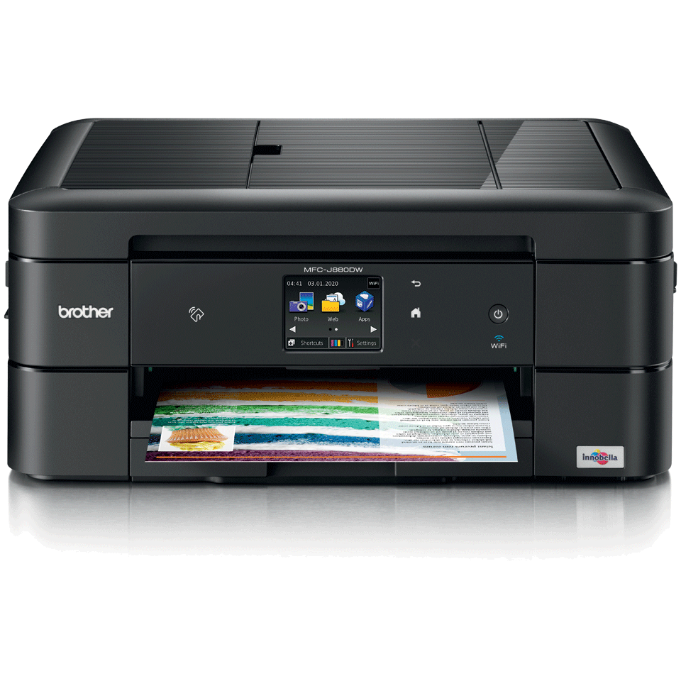 MFC-J880DW A4 all-in-one inkjet printer 2