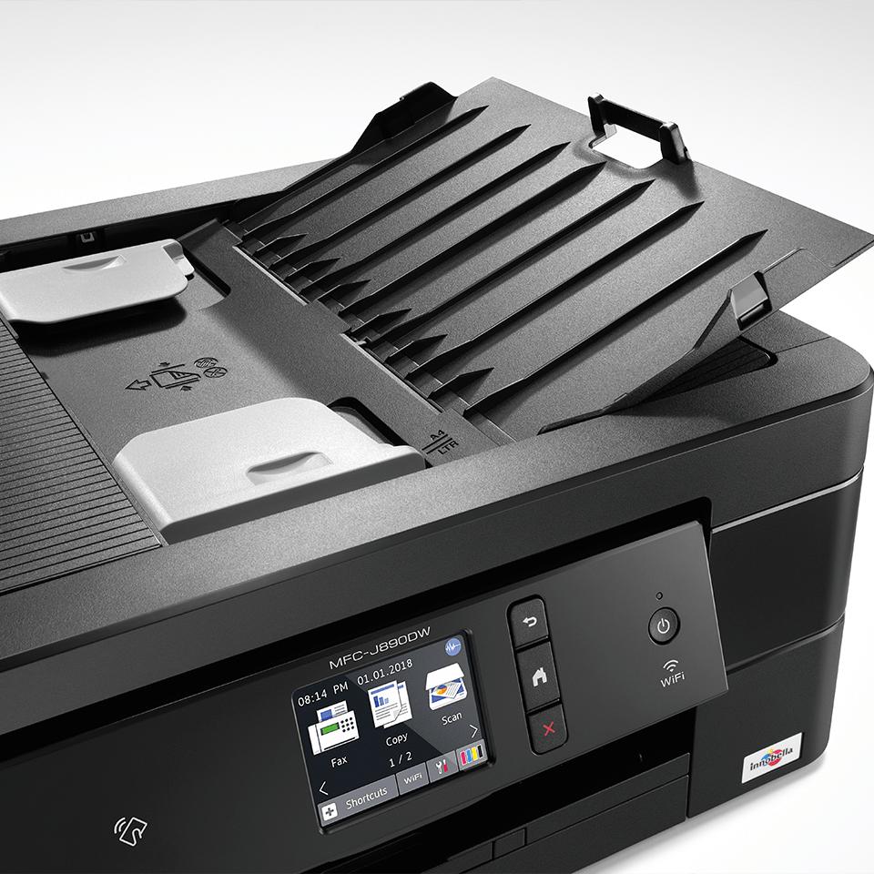 MFC-J890DW 4-in-1 kleuren inkjet printer, Wifi, Ethernet, NFC 4