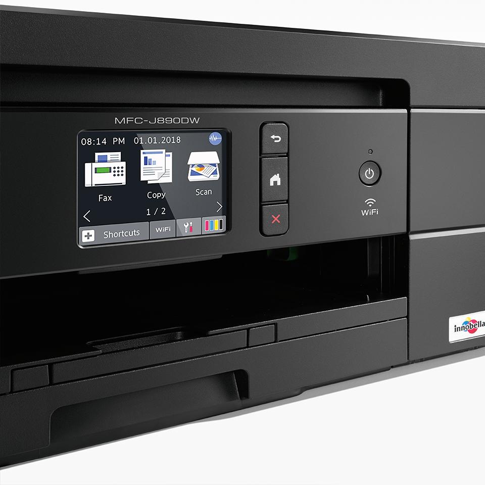MFC-J890DW 4-in-1 kleuren inkjet printer, Wifi, Ethernet, NFC 5