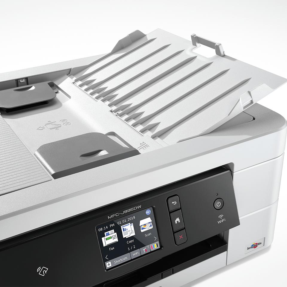 MFC-J895DW compacte 4-in-1 A4 wifi inkjet printer 4