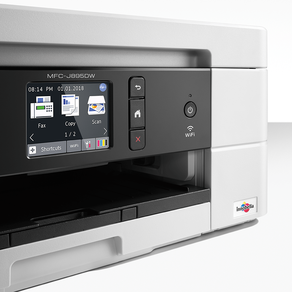 MFC-J895DW 4-in-1 kleuren inkjet printer, Wifi, Ethernet, NFC 5
