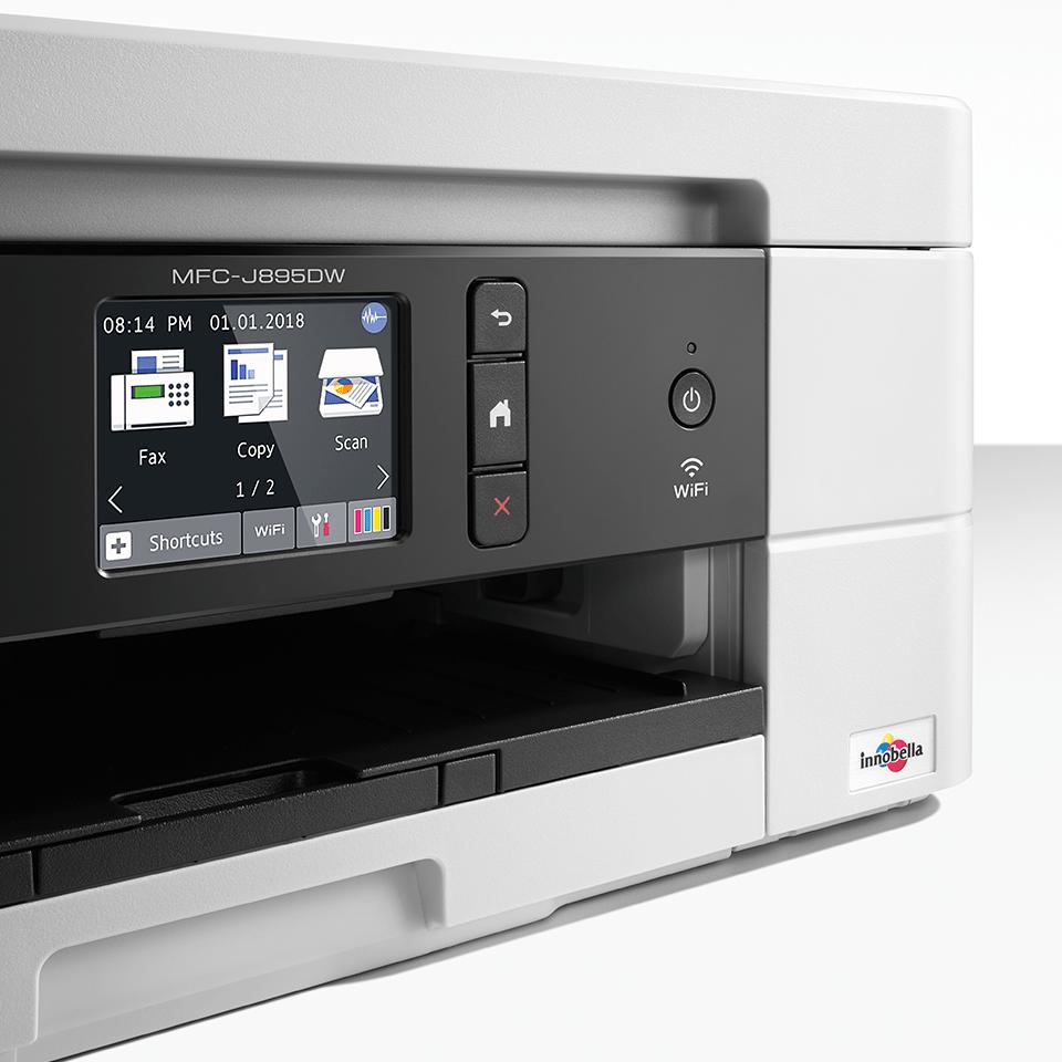 MFC-J895DW compacte 4-in-1 A4 wifi inkjet printer 5