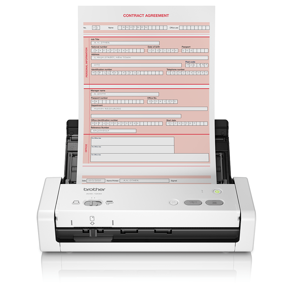 ADS-1200 Draagbare compacte documentscanner