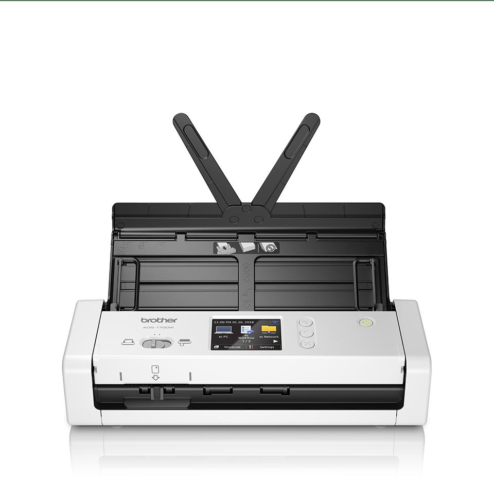 ADS-1700W Slimme, compacte documentscanner 5