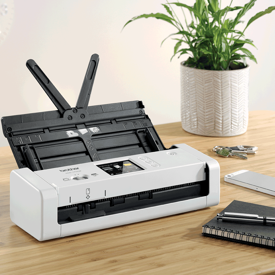 ADS-1700W Slimme, compacte documentscanner 6