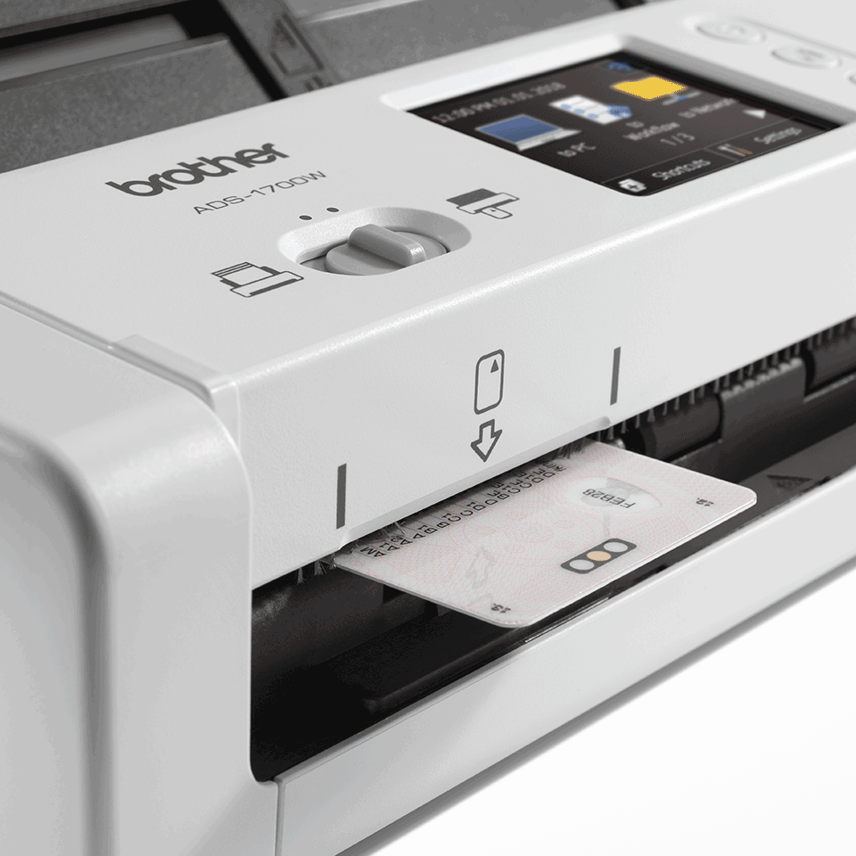 ADS-1700W Scanner de documents intelligent et compact 7
