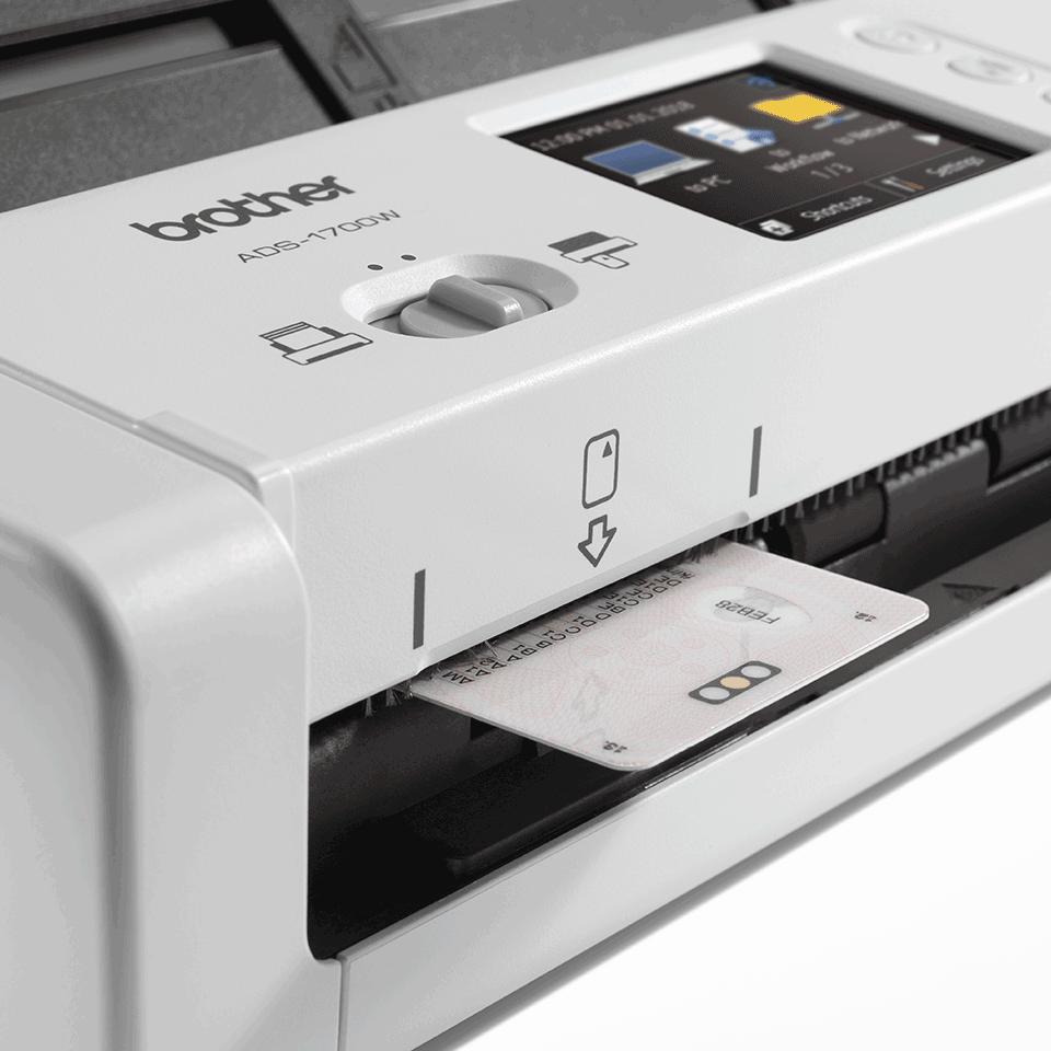 ADS-1700W Slimme, compacte documentscanner 7