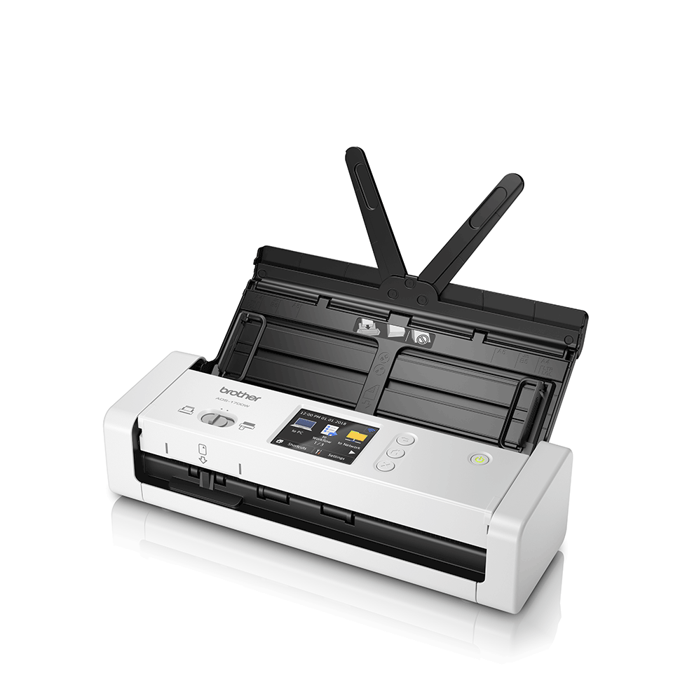ADS-1700W Slimme, compacte documentscanner 2