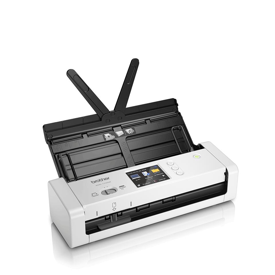 ADS-1700W Scanner de documents intelligent et compact 3
