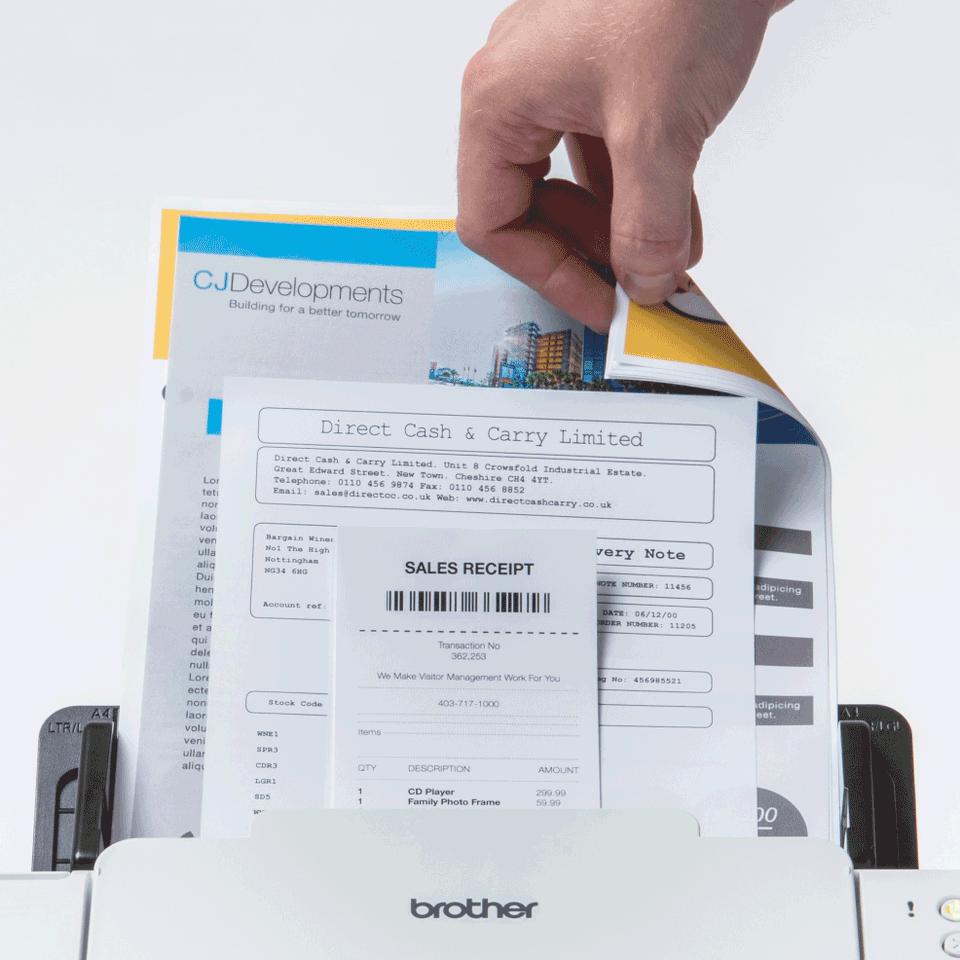 ADS-2700W scanner de bureau 5