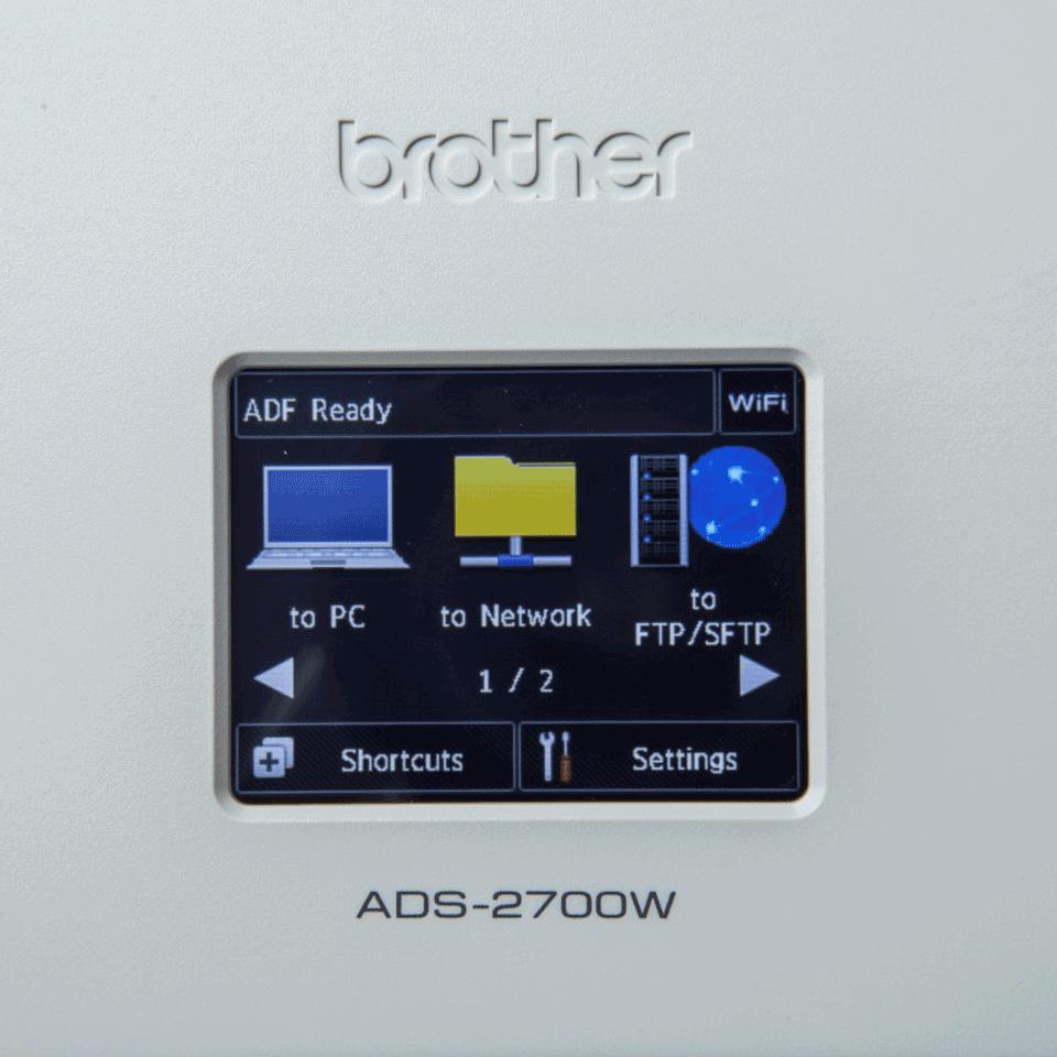 ADS-2700W desktop scanner 7