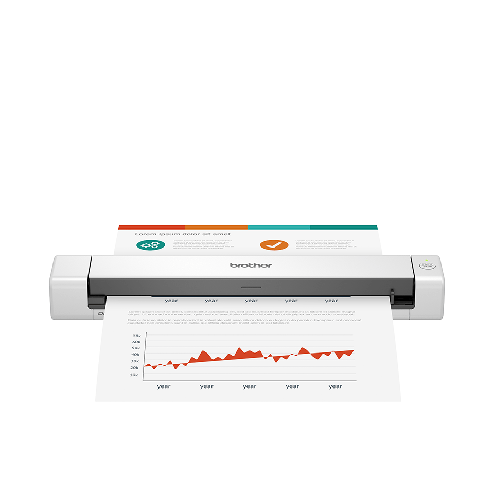 DS-640 scanner portable