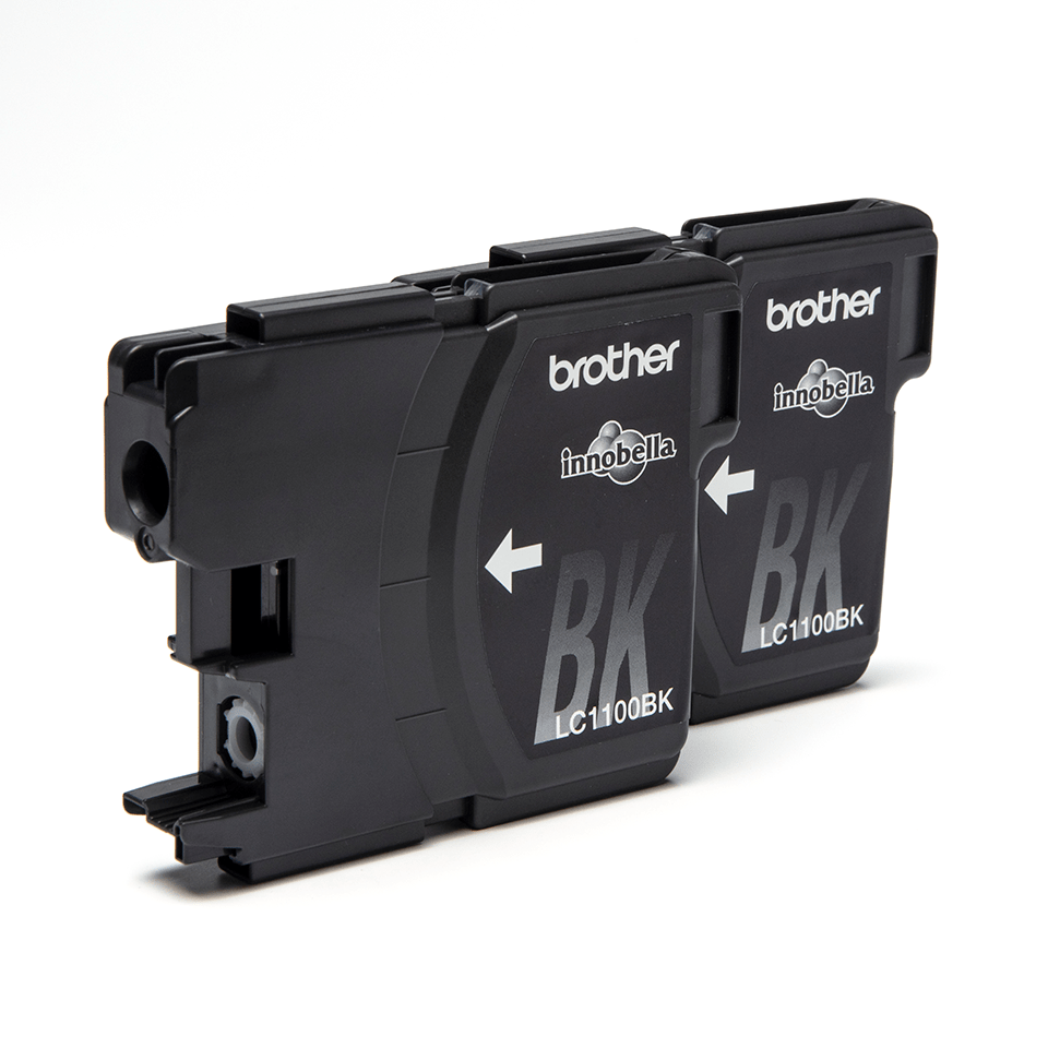 Brother LC1100BKBP2 inktpatronen pack - 2x zwart 2