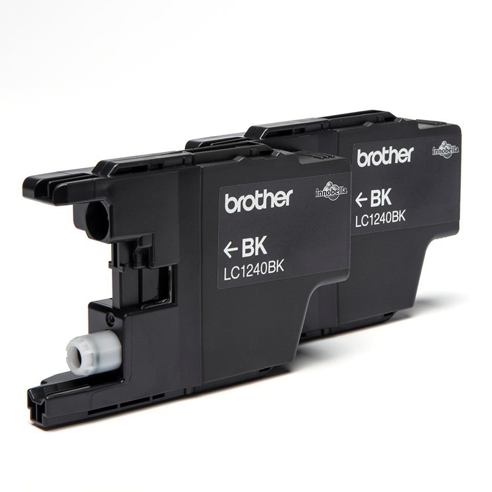 Brother LC1240BKBP2 inktpatronen pack - 2x zwart 2