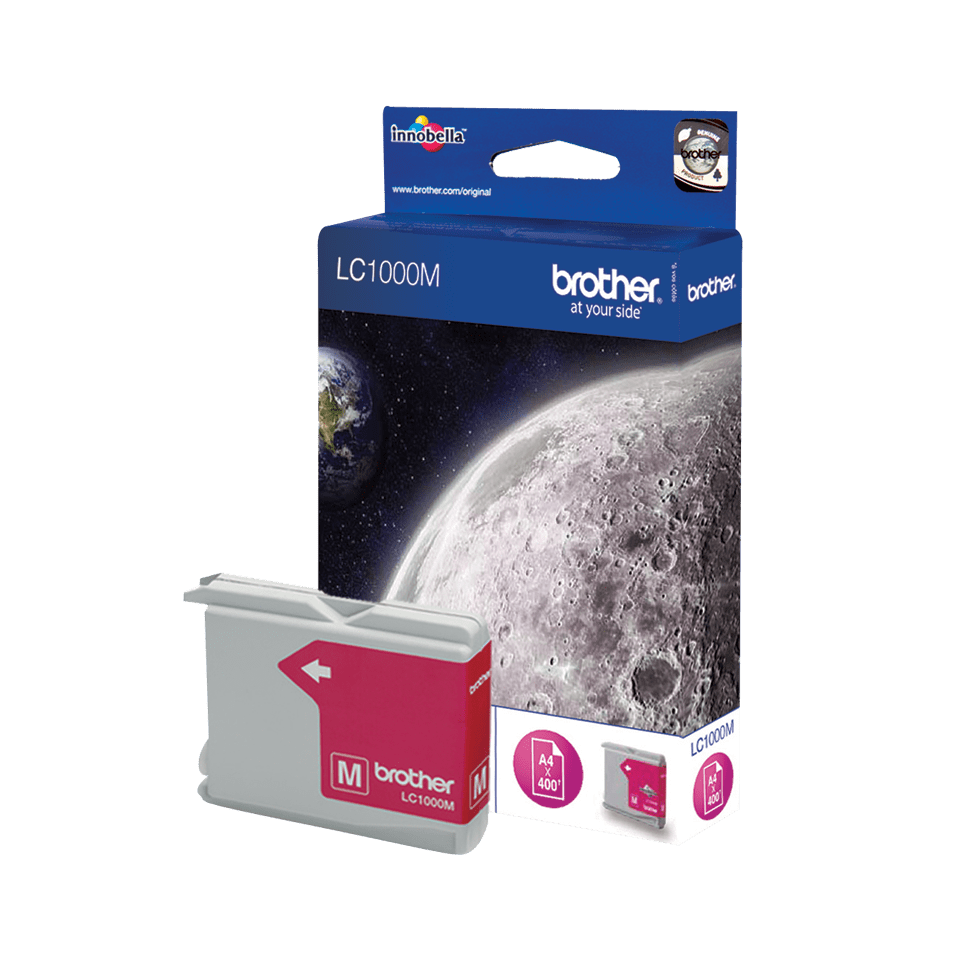 Brother LC1000M cartouche d'encre magenta