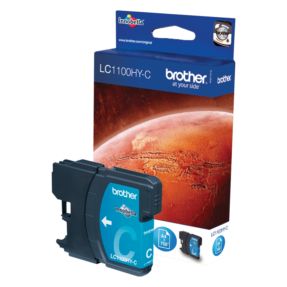 Brother LC1100HYC cartouche d'encre cyan 2