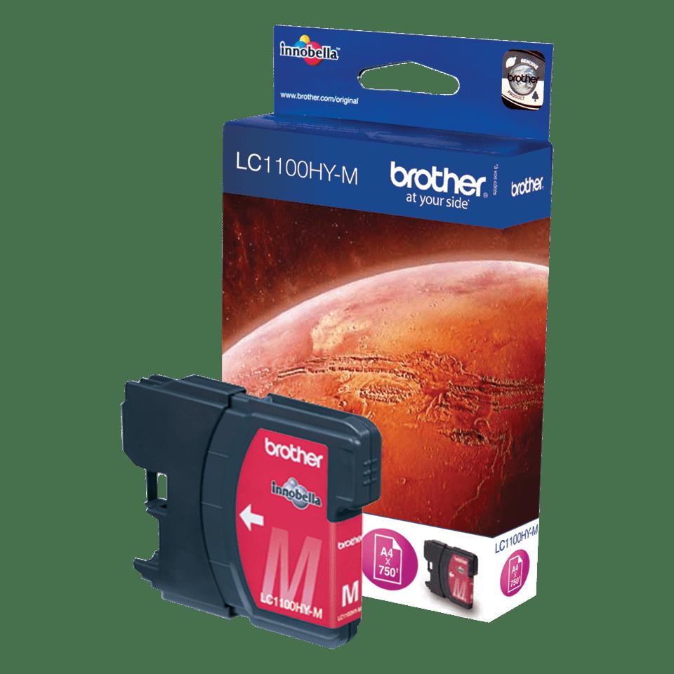 Origineel Brother inktpatroon LC1100HYM - magenta - hoog rendement
