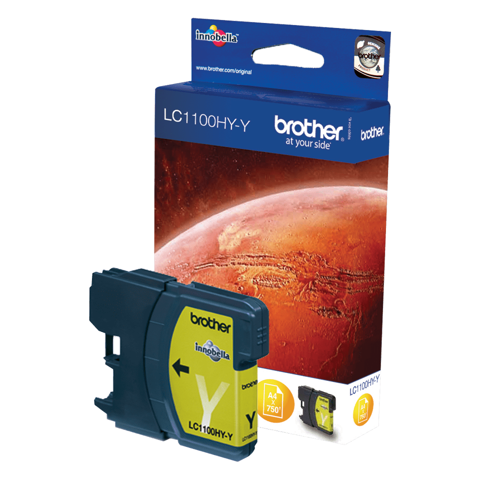 Brother LC1100HYY cartouche d'encre jaune 2
