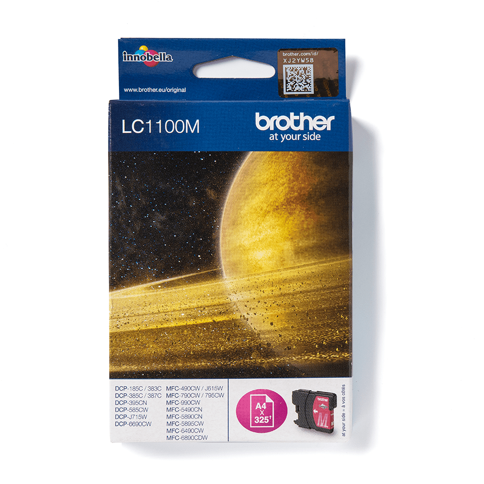 Origineel Brother inktpatroon LC1100M - magenta