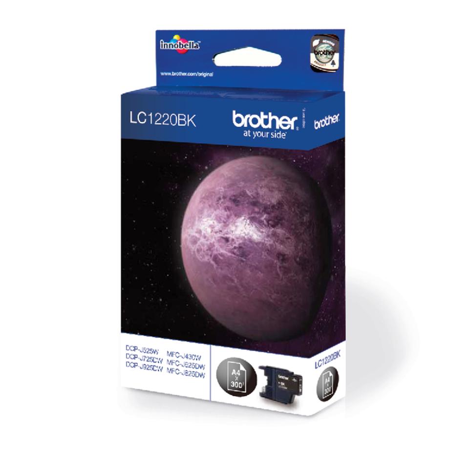 Origineel Brother inktpatroon LC1220BK - zwart 1