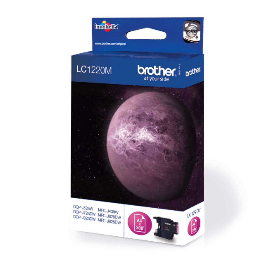 Cartouche d'encre LC1240M Brother originale – magenta