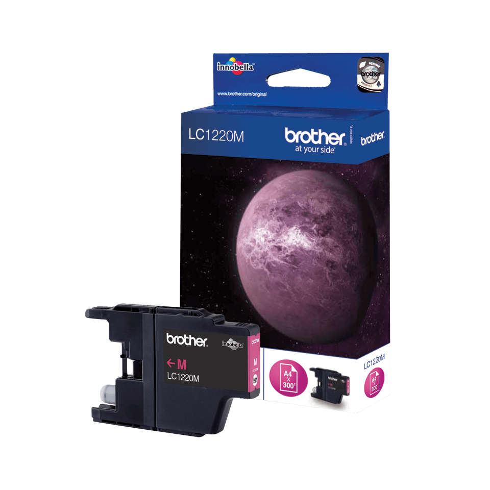 Origineel Brother inktpatroon LC1220M - magenta
