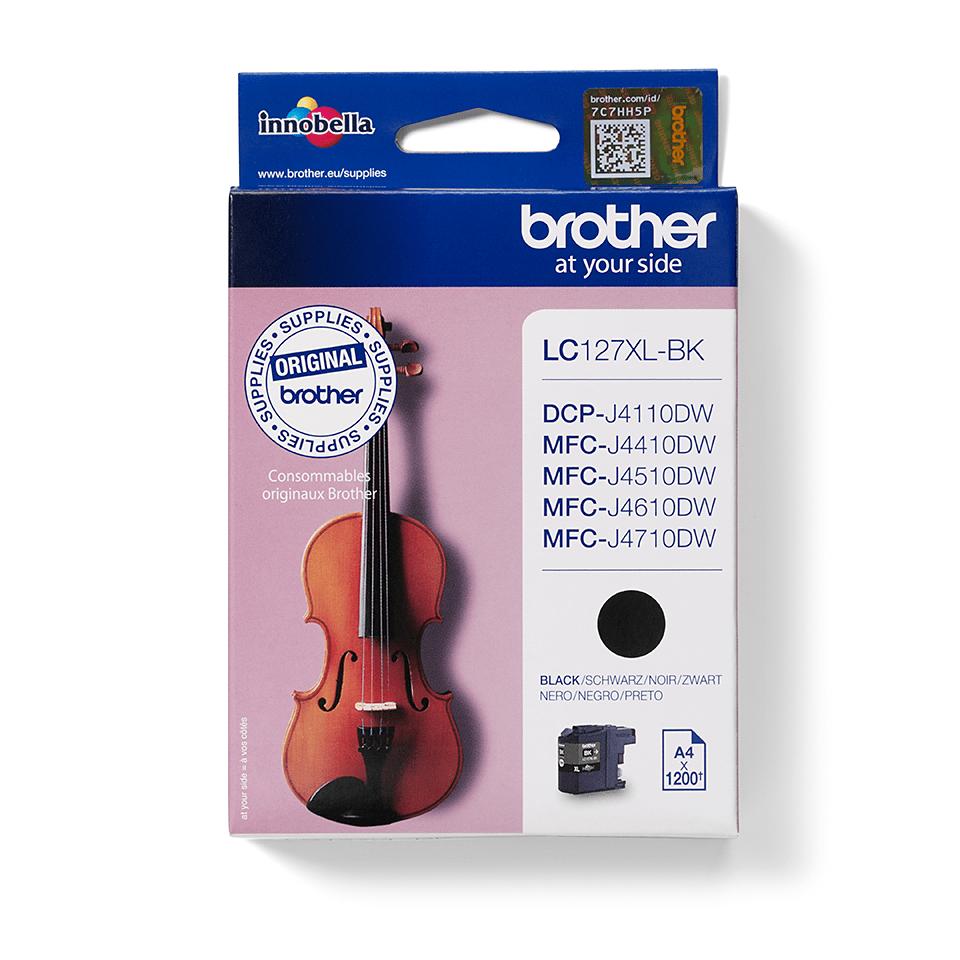 Origineel Brother inktpatroon LC127XLBK - zwart - hoog rendement 2