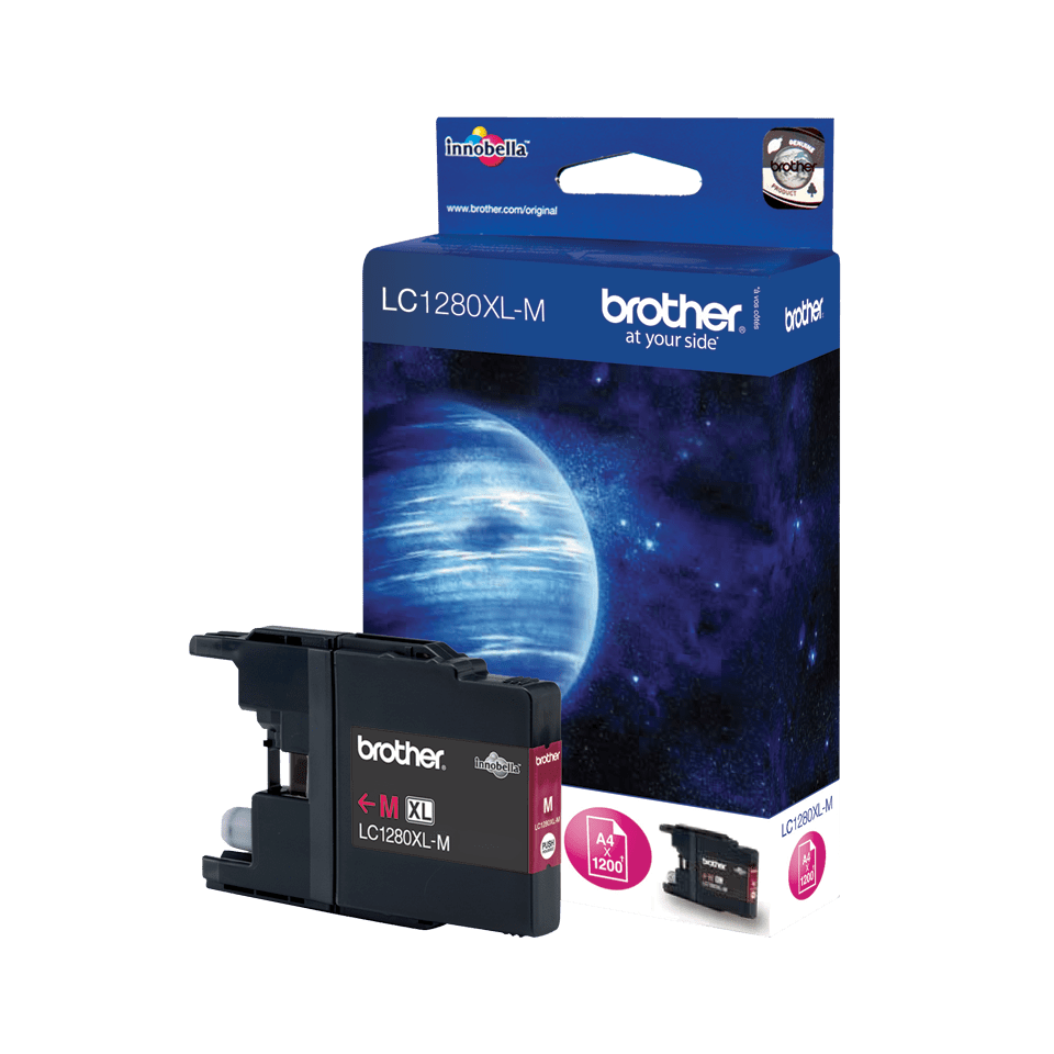Origineel Brother inktpatroon LC1280XLM - magenta - hoog rendement